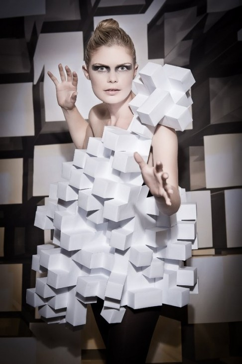 Paperfashion @ FH Modedesign Trier