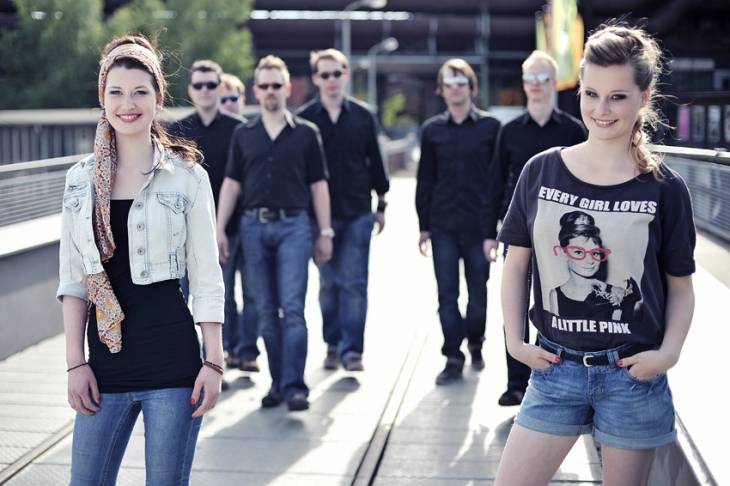 LENA & KATHRIN SICKS (The Voice of Germany) featuring THE BEAVERS PROMOTION PHOTOS