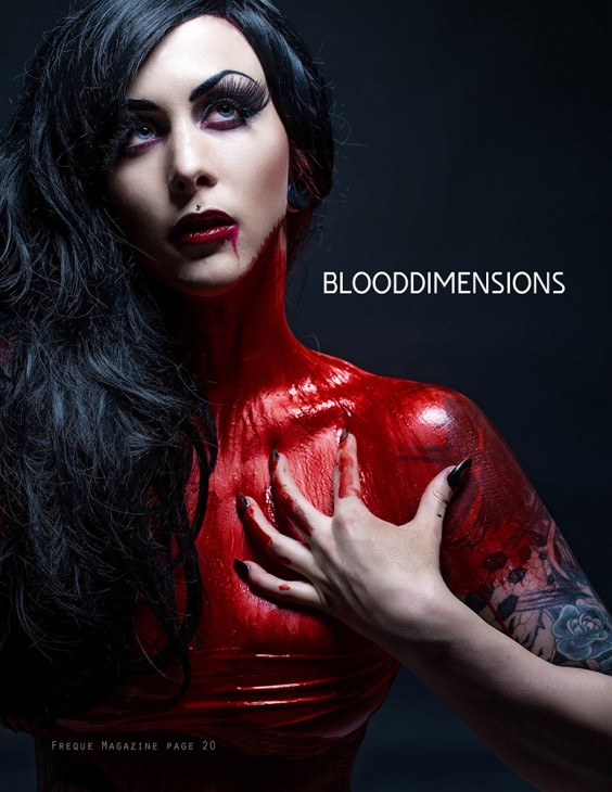 BLOODDIMENSIONS Freque Magazine MAY 2015