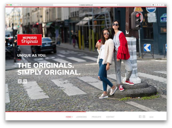 MEPHISTO ORIGINALS Lookbook&Kampagne