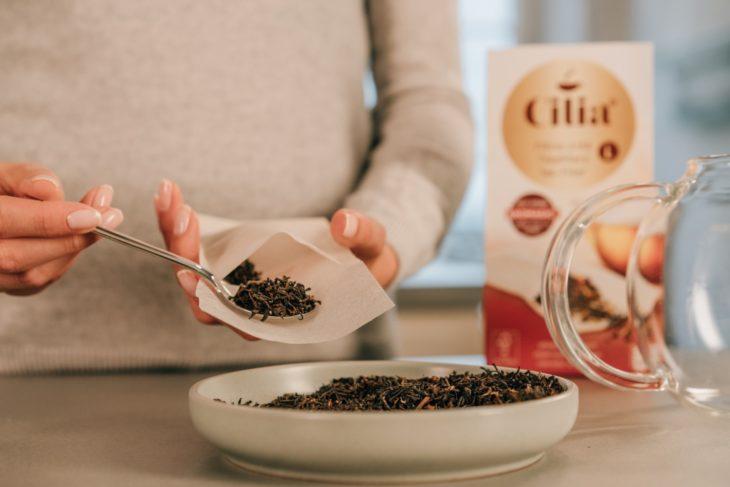 Keyvisuals für CILIA Teefilter